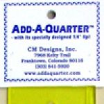 18 inch Add-A-Quarter  Ruler