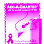 Add-A-Quarter 6 Inch - Breast Cancer Awareness Pink
