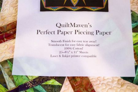 "12½"" x 19"" Perfect! Paper Piecing Paper - 50 & 100 Sheet Packages - IN STOCK"
